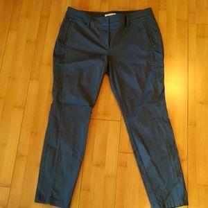 Loft Marisa pants steel blue grey 12p